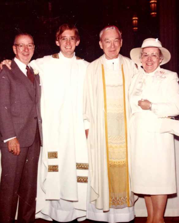 Saturday April 9, 1983  John and Rosemary Raab Bishop William McManus