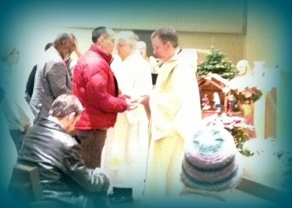 Anointing, Sunday January 6, 2013