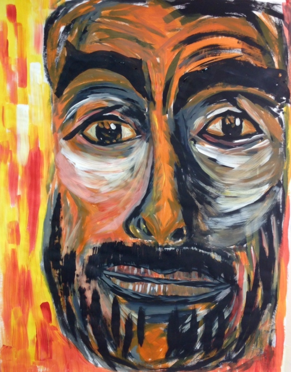 """Stay Awake"" Painting in Acrylics: Ronald Raab, CSC"