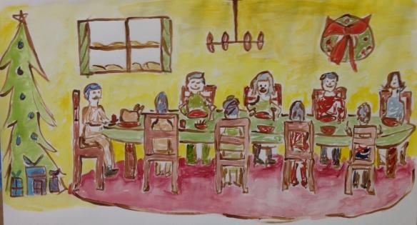 """""""Christmas Feast"""" By: Ronald Raab, CSC"""