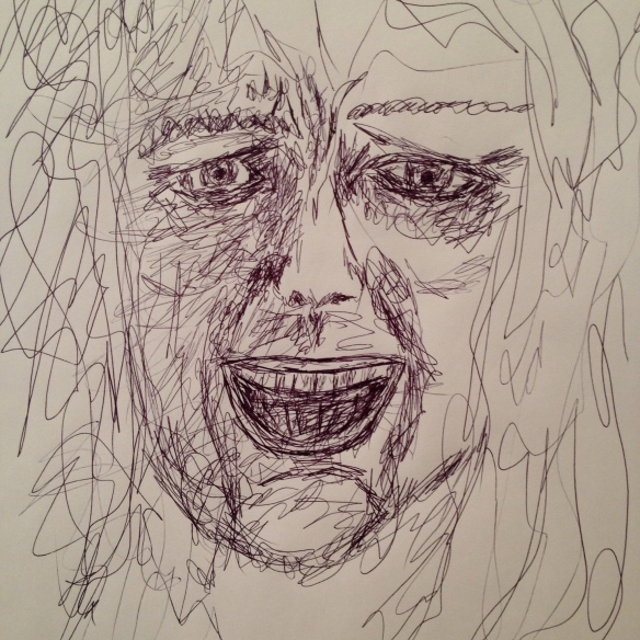 """""""Hearing Voices"""" Sketch: Ronald Raab, CSC"""