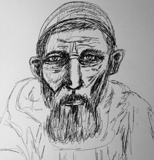 """Perseverance"" Drawing: Ronald Raab, CSC"