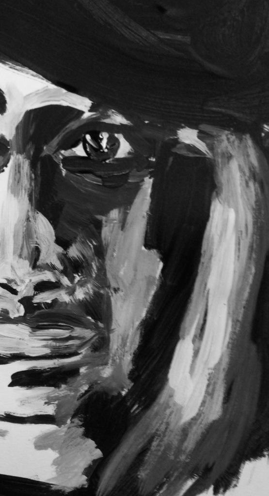 """""""Hidden Face"""" Painting: Ronald Raab, CSC"""