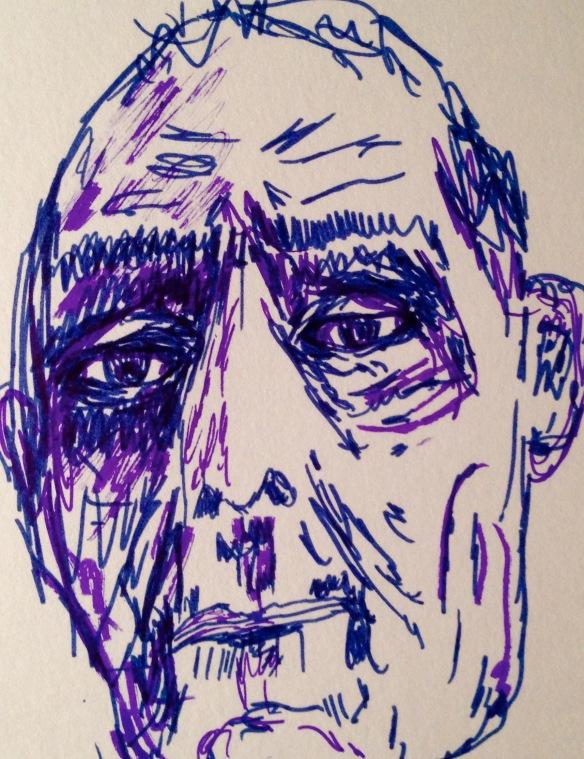 """I don't remember"" Sketch: Ronald Raab, CSC"