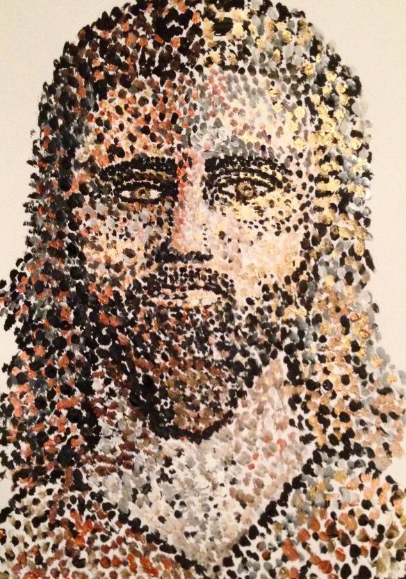"""""""Risen Savior"""" Painting: Ronald Raab, CSC"""