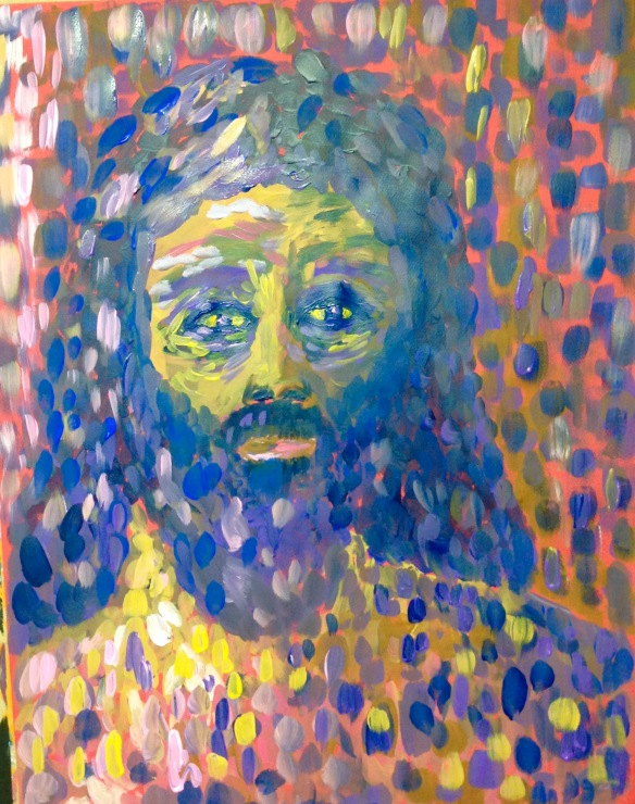 """Peter's Perseverance"" Painting: Ronald Raab, CSC May 28, 2015"
