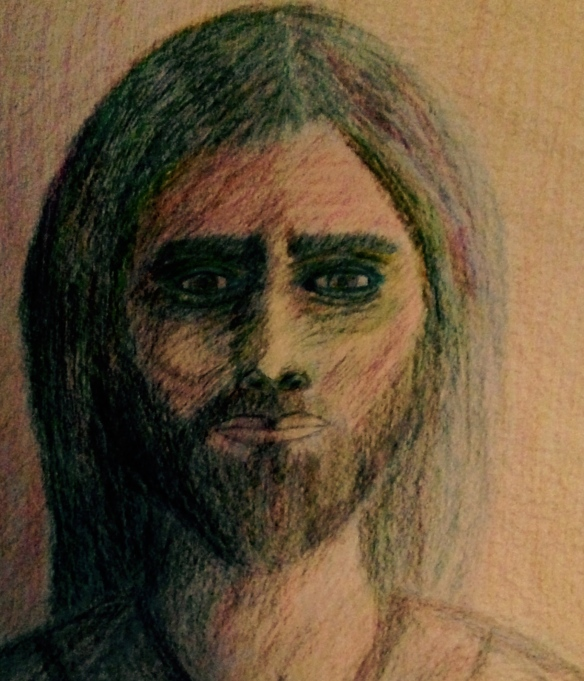 """Jesus, wait for me"" Sketch: Raab, June 12, 2015"