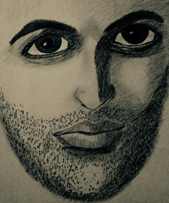 """Our eyes"" Pencil: Ronald Raab, CSC"