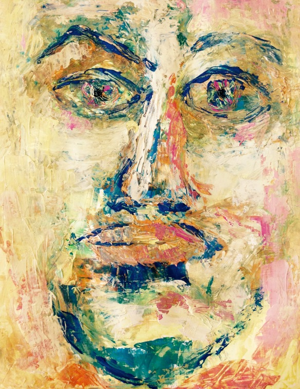 """Thomas, the wonder of faith"" Knife Painting: Ronald Raab, CSC"