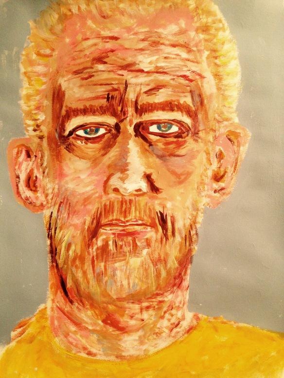 Self-Portrait August 29, 2015