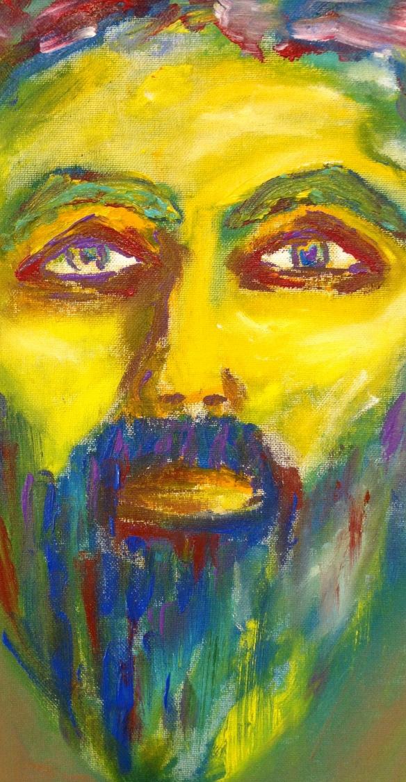 Finger Painting: Ronald Raab, CSC October 31, 2015