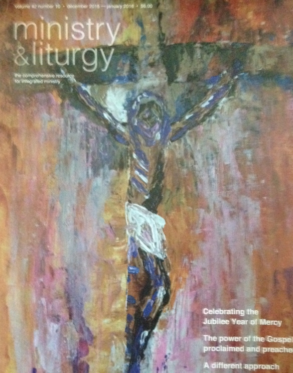 Last cover of Ministry and Liturgy magazine, Dec 2015
