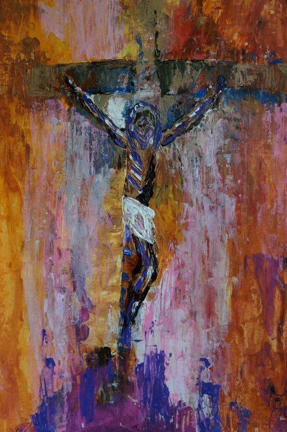 """Crucifixion"" by Ronald Raab, CSC 2015"