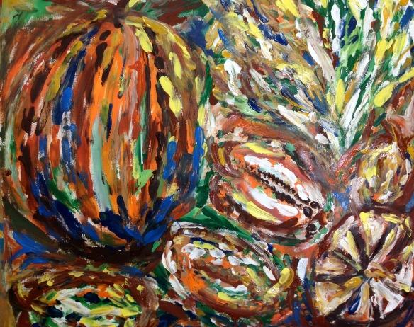 """Harvest"" Painting: Ronald Raab, CSC"