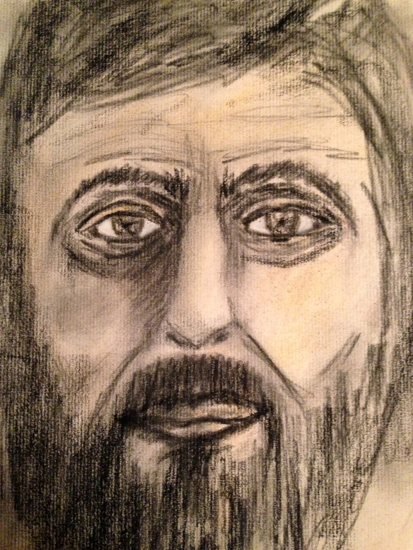 """The searching Zacchaeus"" Sketch: Ronald Raab, CSC"