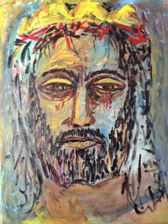 """""""Christ the King"""" Painting by: Ronald Raab, CSC 2015"""