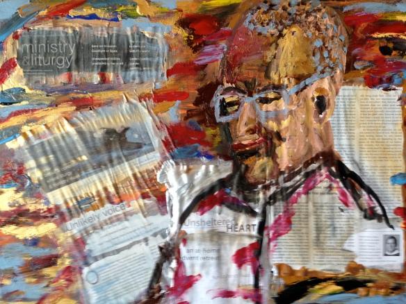 """""""At Sixty"""" Painting: Ronald Raab, CSC"""