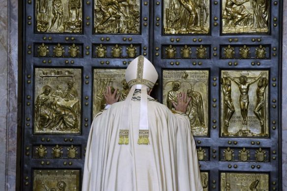 """The Door of Mercy"" Pope Francis, December 8, 2015"