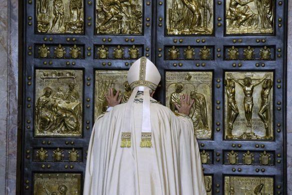 """""""The Door of Mercy"""" Pope Francis, December 8, 2015"""