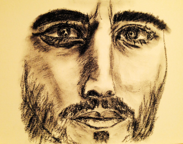 John the Baptist Charcoal: Ronald Raab,CSC