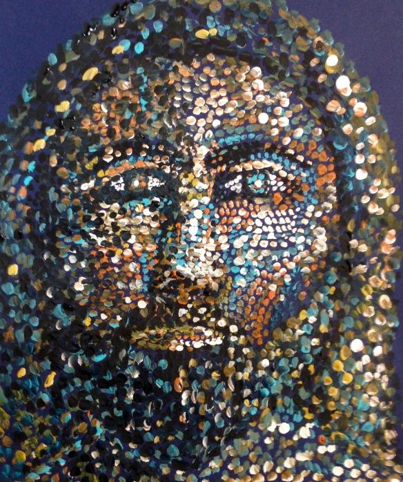 """The Jesus Prayer"" Painting: Ronald Raab, CSC"