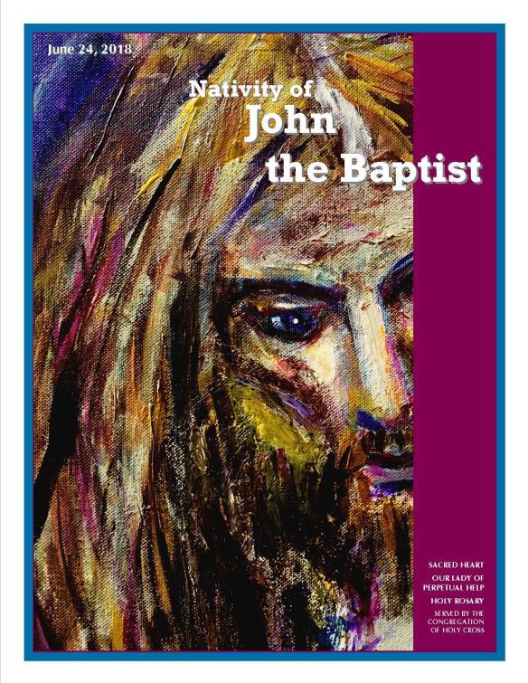 June 24, 2018 Bulletin Cover