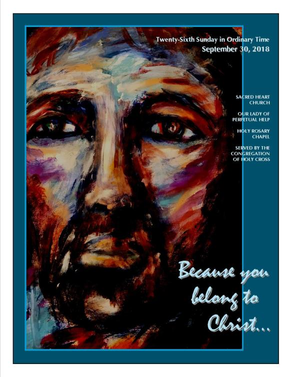 Sept. 30, 2018 Bulletin Cover