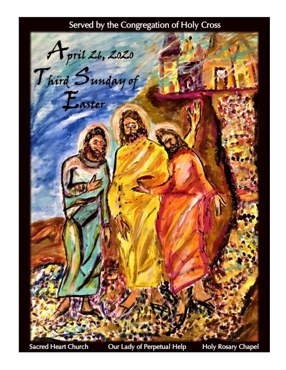 April 26, 2020 bulletin cover